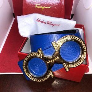 Royal Blue Salvatore Ferragamo Belt